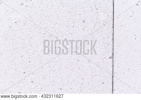 Aerated concrete block background. Lightweight concrete texture surface