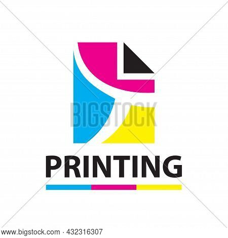 Vector Logo Of The Printing House, Photocopies