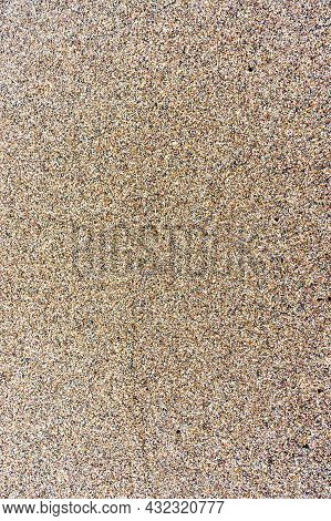Sea Sand. Natural Sea Sand And River Sand. Sandy Background. Sandy Texture.