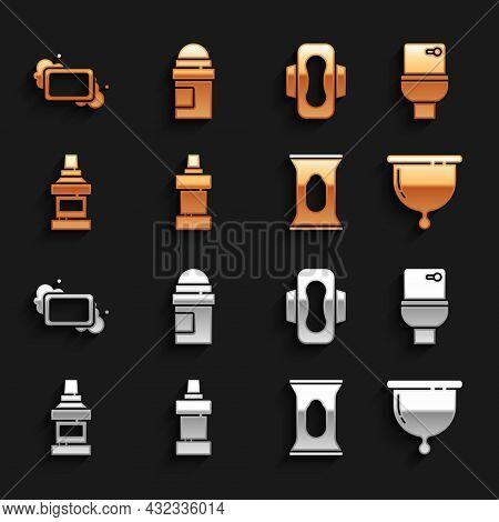 Set Bottle For Cleaning Agent, Toilet Bowl, Menstrual Cup, Wet Wipe Pack, Mouthwash Bottle, Sanitary