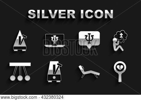 Set Metronome With Pendulum, Man Graves Funeral Sorrow, Broken Heart Divorce, Armchair, Pendulum, Ps