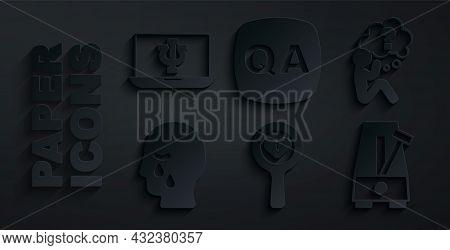 Set Broken Heart Or Divorce, Head With Question Mark, Man Graves Funeral Sorrow, Metronome Pendulum,