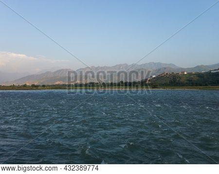 River Swat Pure Blue Water Beautiful Scenery