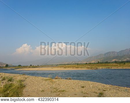 Landscape View Of Swat Valley Or Scenery For Wallpaper