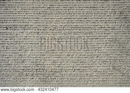 Concrete Pavement Texture. Rough Rough Surface. Material. Background.