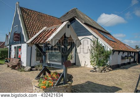 Texel, The Netherlands. August 13, 2021. Renovated Authentic Sheep Farm In Oudeschild, Texel.
