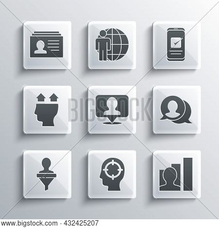 Set Head Hunting, Productive Human, Speech Bubble Chat, Location With Person, User Of, Resume And Sm