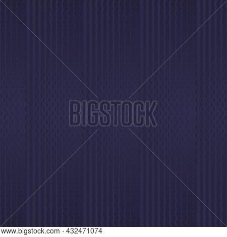 Dark Purple Zigzag Seamless Pattern. Pantone Rhodonite. Vector Illustration