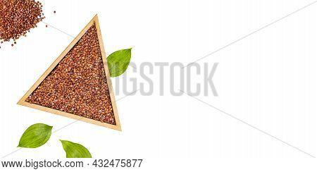 Organic Red Quinoa Seeds - Chenopodium Quinoa