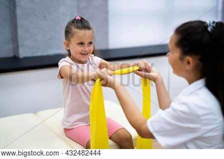 Pediatric Therapy Band And Physical Rehab. Orthopedics Doctor