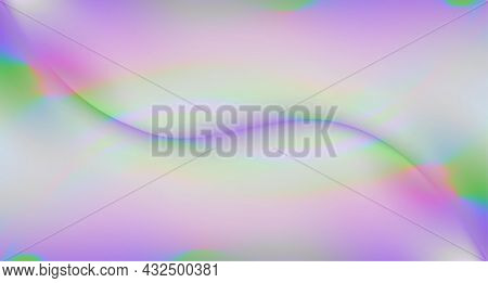 Calm, Feminine, Beautiful Soft Purple Violet Gradient. Colorful, Girly, Abstract Magical Wave Backgr