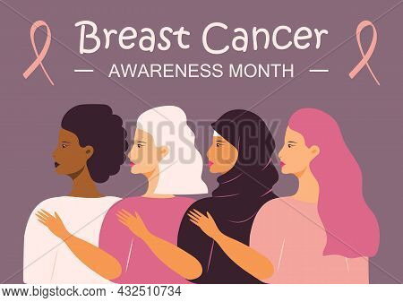 National Breast Cancer Awareness Month Nbcam Celebrated In America. Annual International Health Camp