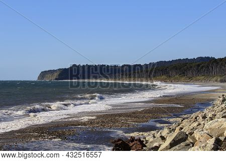 Bruce Bay Beach West Coast Southland New Zealand