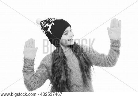 Knitwear Look Like New. Happy New Year Holidays. Kid Fashion Store. Winter Time Shopping. Favorite K
