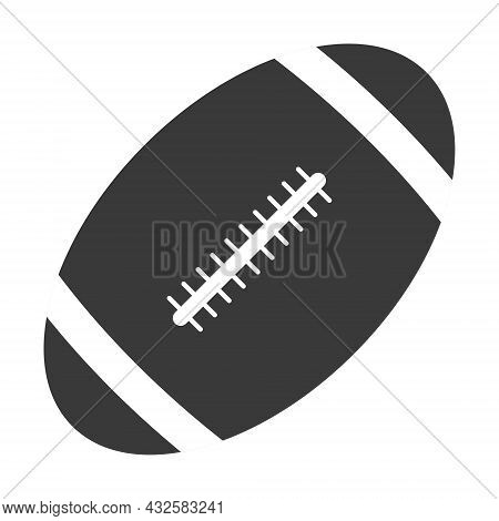Oval Ball For Playing Rugby American Football Game