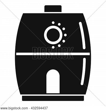 Cooking Fry Appliance Icon Simple Vector. Deep Fryer. Oil Basket