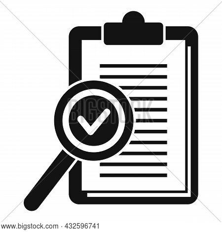 Standard Policy Icon Simple Vector. Quality Compliance. Regulatory Iso