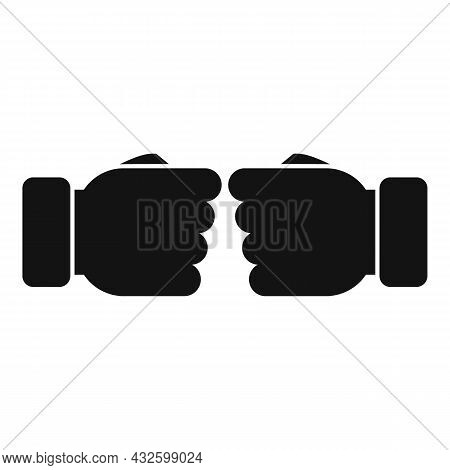 Trust Partner Icon Simple Vector. Hand Deal. Business Shake