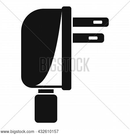 Mobile Cell Charger Icon Simple Vector. Charge Phone. Energy Plug
