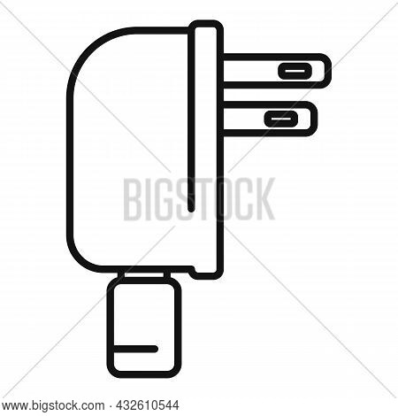 Mobile Cell Charger Icon Outline Vector. Charge Phone. Energy Plug
