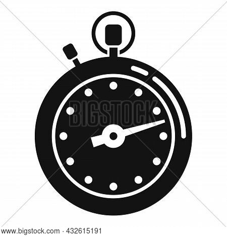Stopwatch Meter Icon Simple Vector. Clock Watch. Timer Countdown