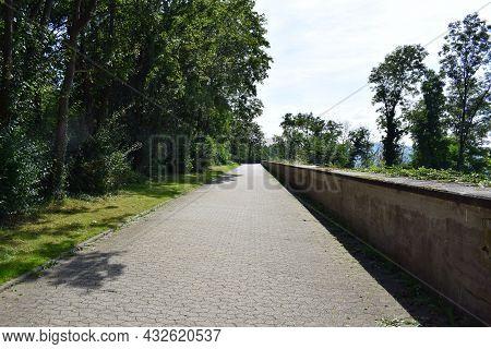 Way At The Cliff In Koblenz Asterstein