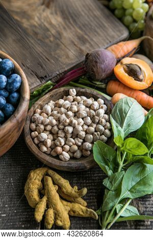 Large Collection Of The Worlds Healthiest Foods Very High In Antioxidants, Anthocyanins, Fibre, Prot