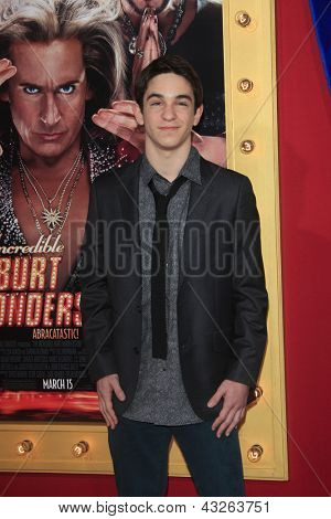 LOS ANGELES - MAR 11:  Zachary Gordon arrives at the World Premiere of