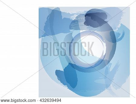 Abstract Watercolor Hand Paint Texture, Isolated On White Background, Watercolor Textured Backdrop,