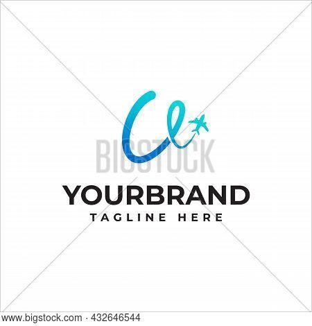 Letter U Logo Or Symbol Template Design