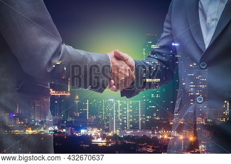 Business Team Showing Unity With Their Hands Together To Star Up Corporation In Teamwork Project In