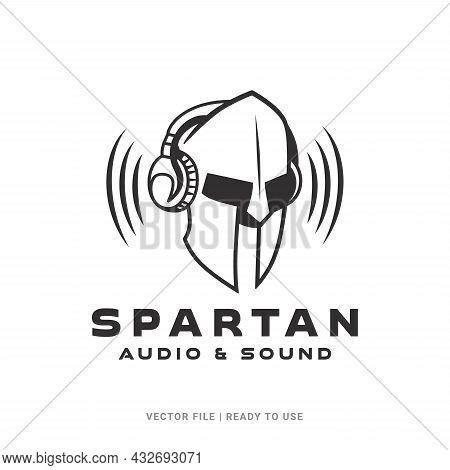 Spartan Logo Icon Designs Vector. Vintage Antique Sparta Warrior Vector Design, Gladiators, Spartan