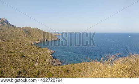 Beautiful Cliffs And Beaches In Cabo De Gata Nature Reserve, Almeria, Spain