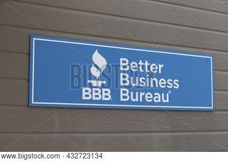 Prescott - Circa September 2021: Better Business Bureau Local Office. The Better Business Bureau Is