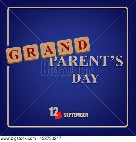 The Calendar Event Is Celebrated In September - Grandparents Day