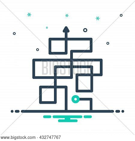 Mix Icon For Complicated Complex Difficult Arrow Hard Messy Complexity Mystery