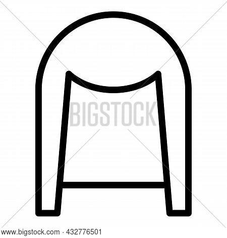 Fashion Turban Icon Outline Vector. Pagdi Hat. Arabian Sikh