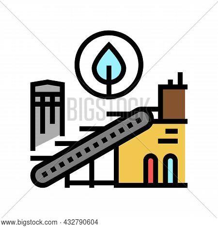 Environmental Technologies Color Icon Vector. Environmental Technologies Sign. Isolated Symbol Illus