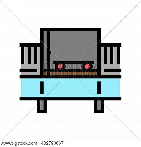 Bulk Handling System Color Icon Vector. Bulk Handling System Sign. Isolated Symbol Illustration