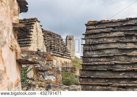 The City Of The Dead Is A Place Of Burial Of Ancestors In Caucasus