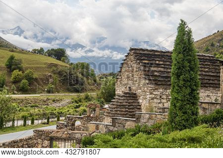 A Small, Ancient Temple In A High-mountain Village. A Sacred Place For The Worship Of Local Saints I