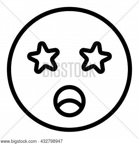 Dizziness Hangover Icon Outline Vector. Dizzy Vertigo. Headache Migraine