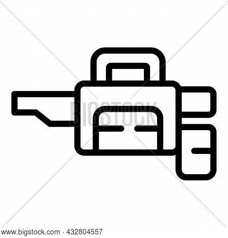 Chemical Sprayer Tool Icon Outline Vector. Pesticide Spray. Control Equipment