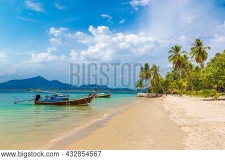 Tropical Beach At Koh Mook (koh Muk) Island, Thailand