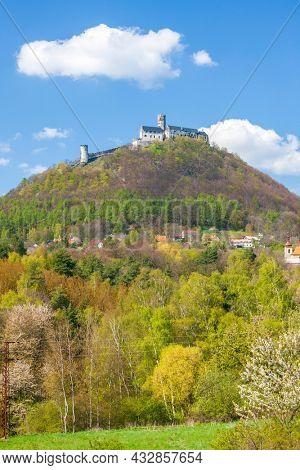 Bezdez castle in Central Bohemia, Czech Republic