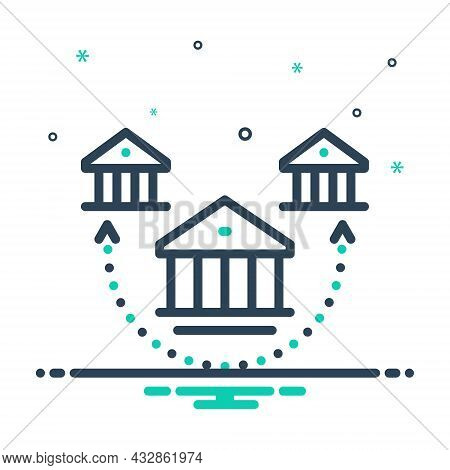 Mix Icon For Branch Offshoot Bough Division House Choice Subdivision Association Building Architectu