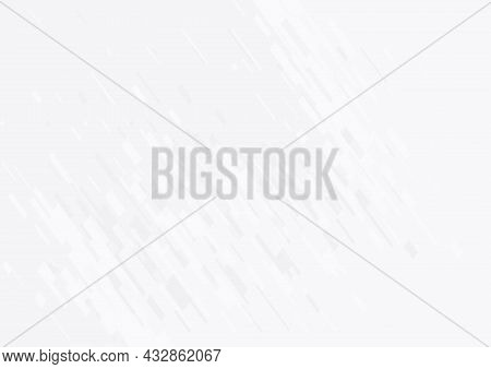 Abstract Background In White And Gray Gradient Color. White Background Texture With Geometric Patter