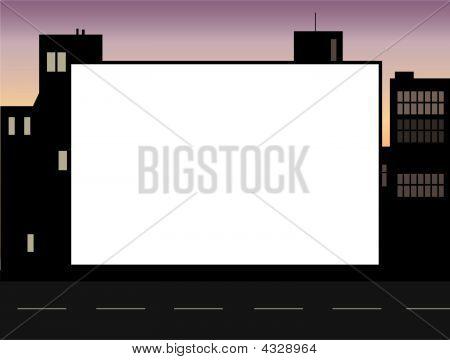Cityscape Picture Frame