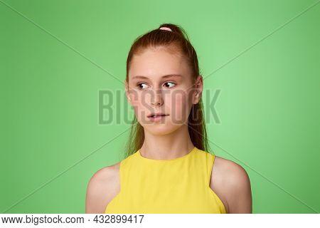 Sad Teen Girl Made Big Mistake And Feel Guilty