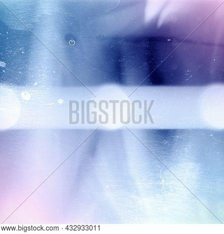Designed Square Grainy Medium Format Film Frame. Film Texture Background